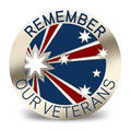 Remember Our Veterans Southern Cross Badge