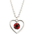 Remember Keep True Poppy Pendant